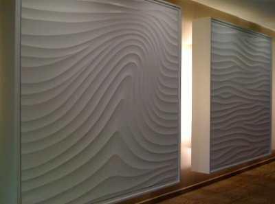 Рельефная штукатурка – создаем красивую текстурную поверхность своими руками