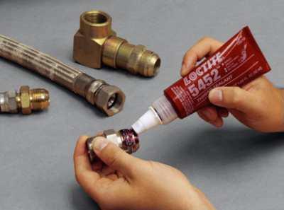 Герметик резьбовой как помощник при монтаже труб