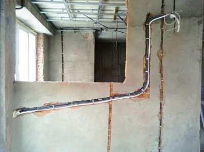 Как штробить бетонную стену в домашних условиях