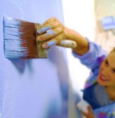 Хитрости при покраске стен в кухне и ванной
