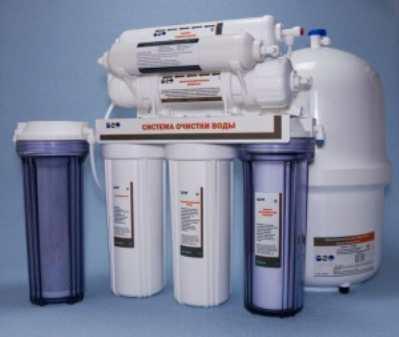 Установка фильтра для очистки воды