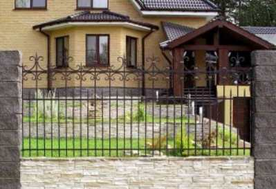 Как выбрать кованый забор