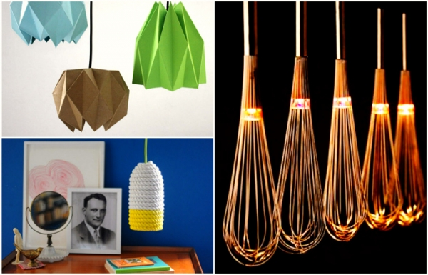 Осветительные приборы для дома своими руками 9