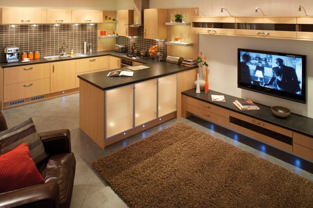 Кухня-гостиная у Вас дома